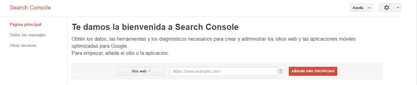saber tu posicionamiento web sitios alta google search