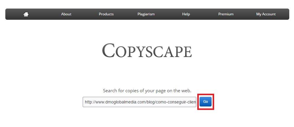 contenido duplicado externo copyscape