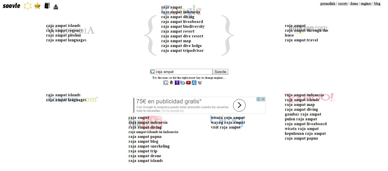 herramientas de palabras clave soovle