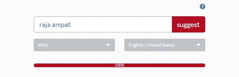 herramientas de palabras clave ubersuggest