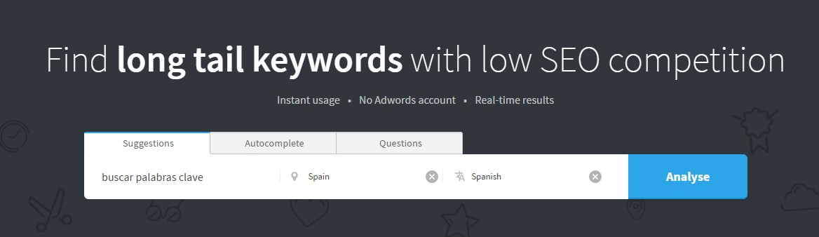 buscar palabras clave herramientas ahrefs