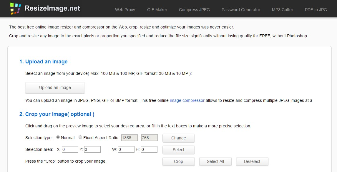 herramientas optimizacion web resizeimage