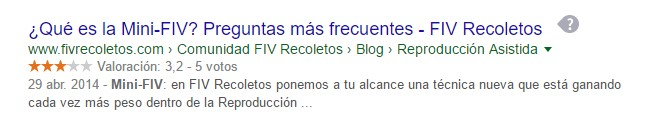 rich snippets seo servicios profesionales