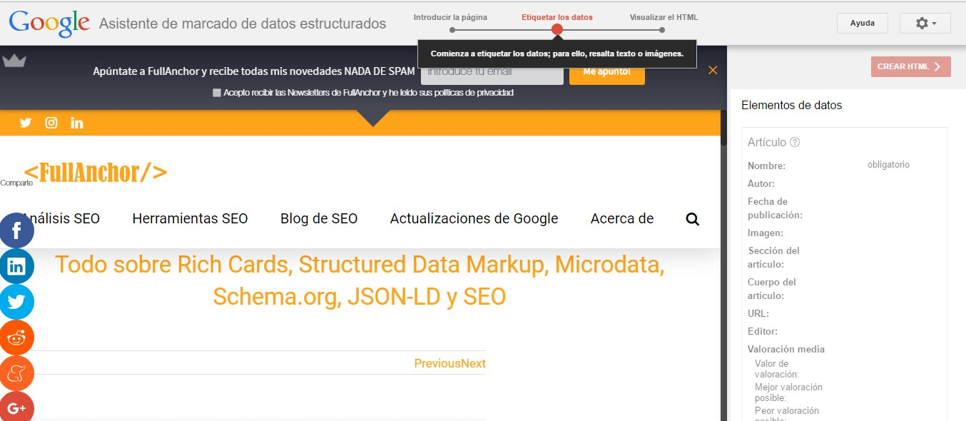 herramientas lenguaje marcado markup helper asociacion