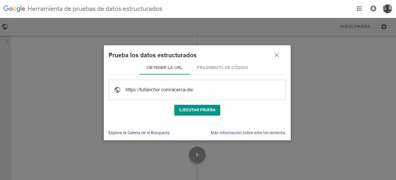 herramientas lenguaje marcado validador google