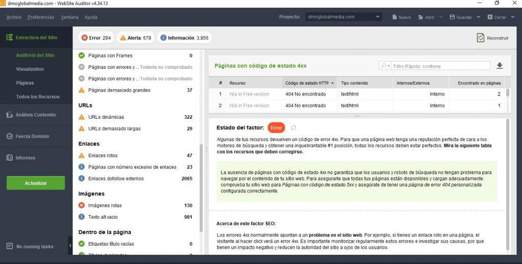 herramientas auditoria seo web audit