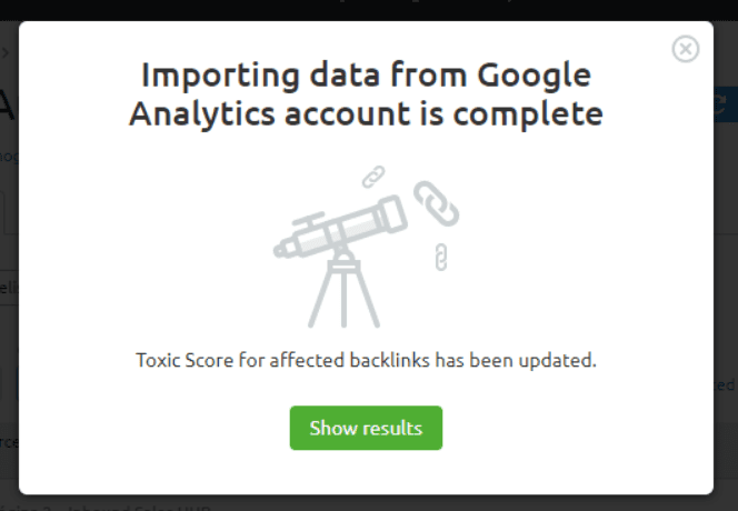 auditoria seo integracion enlaces google analytics