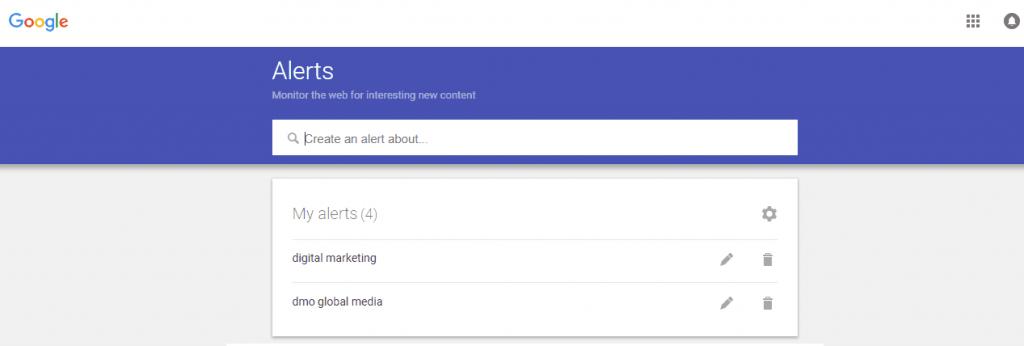 posicionamiento seo buscadores google alerts