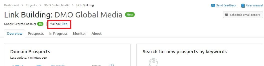 posicionamiento seo buscadores link building configuracion mail