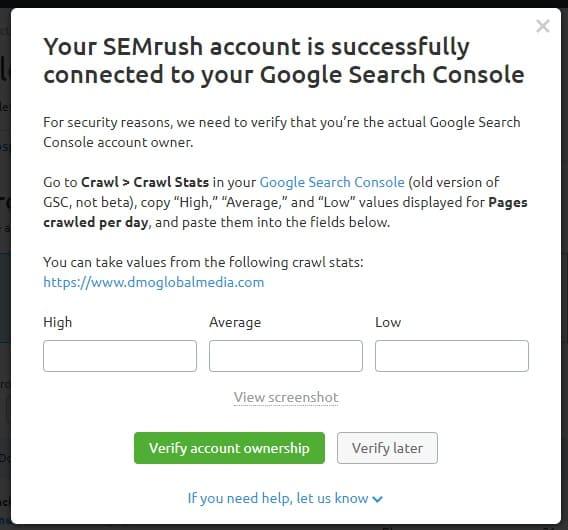 posicionamiento seo buscadores link building validacion gsc