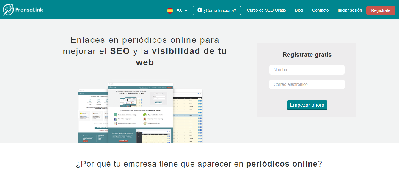 comprar enlaces backlinks calidad prensalink