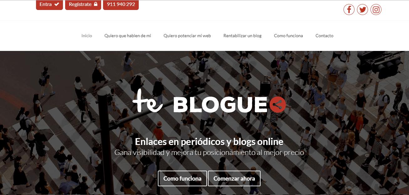 comprar enlaces backlinks calidad teblogueo