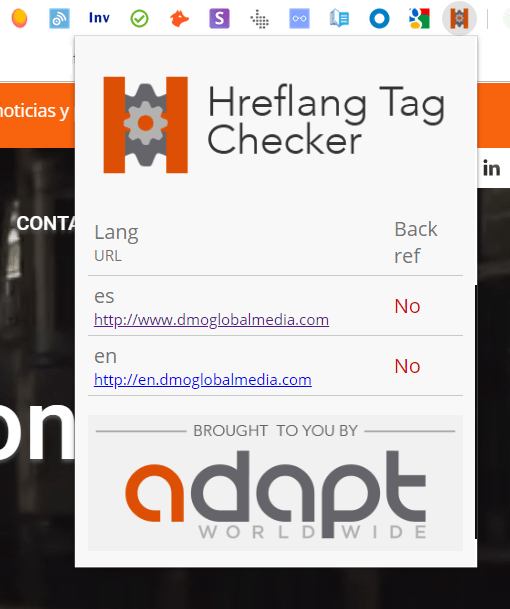 herramientas posicionamiento seo internacional hreflang tag checker