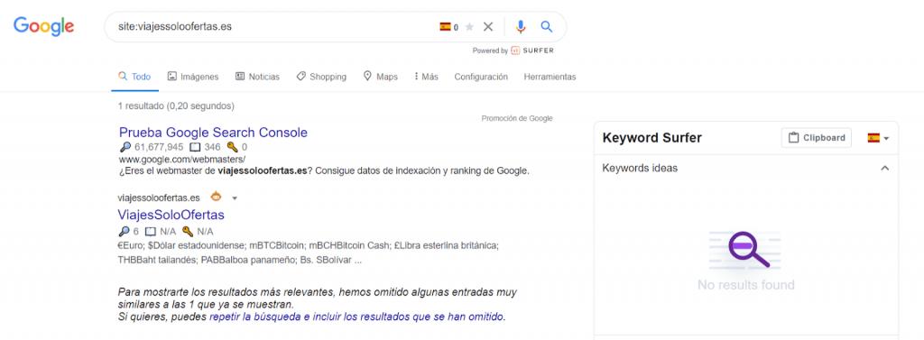 encontrar buscar dominios caducados analizar sigue indexado en google